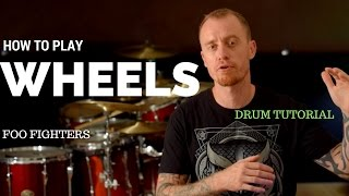 Wheels By Foo Fighters Video Drum Lesson Sample