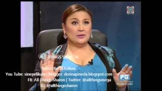 YFSF: Sharon Cuneta on Karla Estrada As Angela Bofill