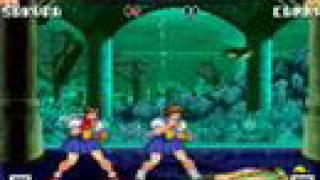 My Mugen - Arcade mode with Sakura (Me)