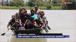 Ratusan Warga Terisolasi di Kebumen Akibat Banjir Dievakuasi Petugas - iNews Sore 19/01