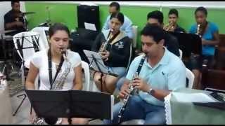 Ensaio Hino 394 da Harpa Cristã - Assembléia de Deus Min. Ipiranga - Pq. Figueira Grande