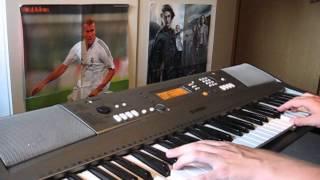 Twin Peaks Theme (Falling) - keyboard cover
