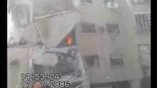 Missile Falls in Haifa - Israel 2006
