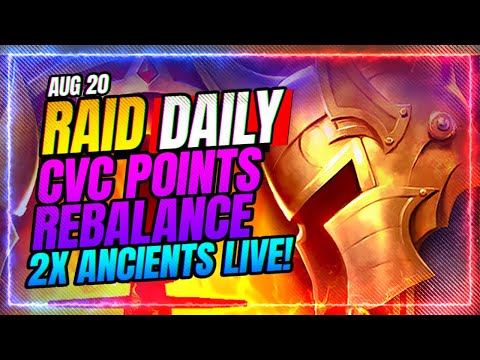 BIG CvC Changes! 2x Ancients is LIVE! | RAID Shadow Legends