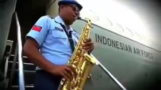 Respect untuk bapak bapak TNI AU ,, tipe-X Salam rindu (cover)