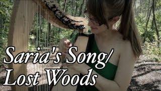 Saria's Song/Lost Woods - Legend of Zelda - Harp Cover
