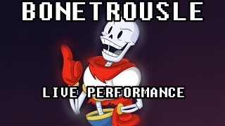 Bonetrousle - UNDERTALE ► Live Mandolin Performance by MandoPony