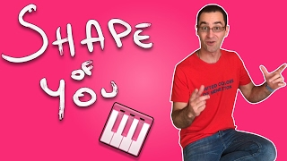 Jouer SHAPE of YOU partie Marimba (Piano)