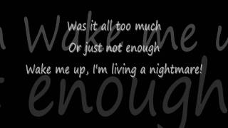 Three Days Grace - Time Of Dying Lyrics [HD]