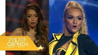 Tea Tairovic Vs Teodora Dzehverovic - Grand duel - ZG Specijal 15 - (TV Prva 08.01.2017.)
