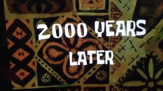 2000 years later backwards spongebob time cards