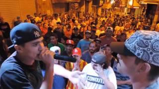 BATALHA DO CALÇADÃO 5 ANOS 03/09/16 - Nandin vs MC Nogueira