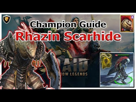 RAID Shadow Legends | Champion Guide | Rhazin Scarhide