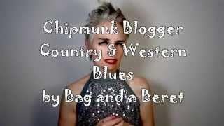 Chipmunk Blogger Country-Western Blues