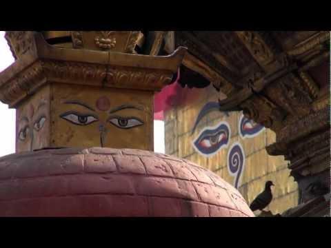 NEPAL KATHMANDOU MONKEY TEMPLE SWAYAMBHUNATH