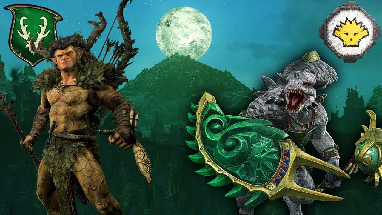 milkandcookiesTW - FULL VANGUARD SHOWDOWN at HELL PIT - Wood Elves vs. Lizardmen - Total War Warhammer 2