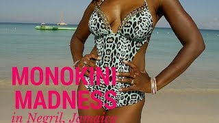 Monokini Madness in Negril, Jamaica | Swimwear Lookbook