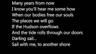 If the Hudson Overflows - Goldspot Lyric Video