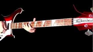 The Beatles- All You Need Is Love (Bass Cover) width=