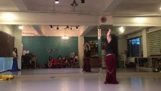 Esmaouni(oriental dance/belly dance/tarab)-Yunseo Park Practice Video