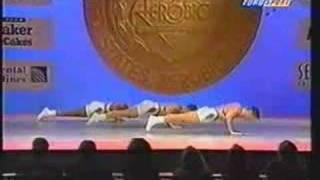 National Aerobics Championship USA 1995 Trio