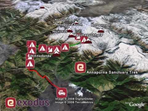 Annapurna Sanctuary with Exodus Travels – Google Earth Video