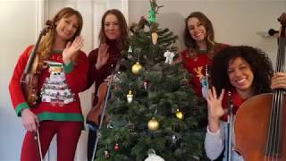 Spinphony Electric String Quartet - Queen's Holiday Tea