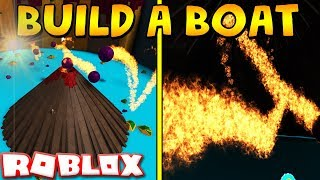 WHATS INSIDE THE VOLCANO? | Build a boat for Treasure ROBLOX
