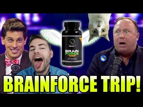 MILO Alex Jones & Paul Joseph Watson TRIP ON BRAINFORCE! (SuperCut)