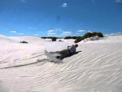 Sandboarding in Cape Town 3