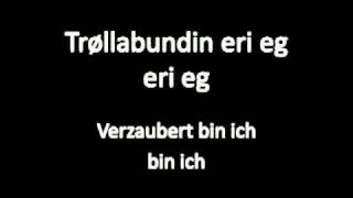 Eivør Pálsdóttir - Trøllabundin, Verzaubert (Trollgebunden), Untertitel auf Deutsch