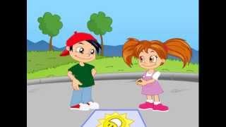Dibujos animados Derechos de los niños Los derechos de los niños. Dibujos animados de La Tia