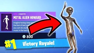 THEY PUT METAL ALIEN IN FORTNITE?!