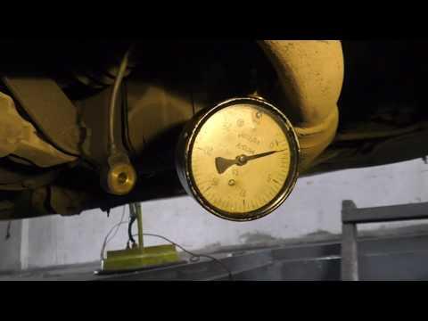 Замер давления масла Chevrolet Aveo.