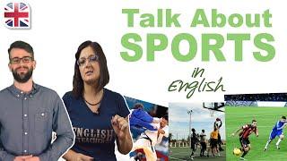 Talk About Sports in English - Improve Spoken English Conversation