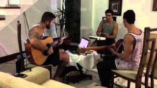 Rat race - Bob Marley  Acustic guitar, acustic bass and handsonic 10 - Banda Ozzie Jam
