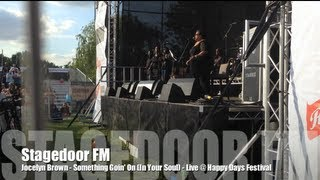 Jocelyn Brown - Something Goin' On (In Your Soul) (Live @ Happy Days Festival)