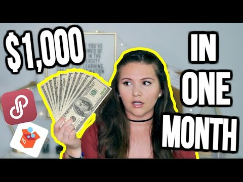 How To Make Over $1,000 Per Month Selling on Poshmark & Mercari   Tips & Tricks For Selling Online