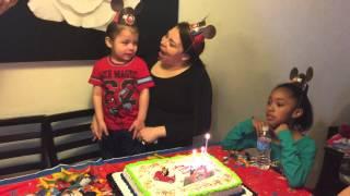 Happy Birthday Lil Robbie Webster 2015
