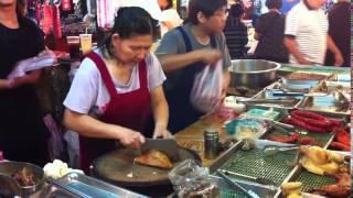 花蓮 吉安郷 ローカル市場 At a locat market in Hualien, Taiwan