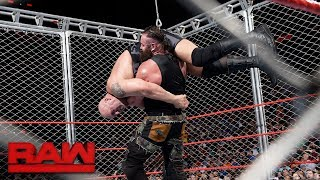 Big Show vs. Braun Strowman - Steel Cage Match: Raw, Sept. 4, 2017