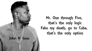 KENDRICK LAMAR-ELEMENT LYRICS