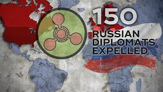Russia strikes back against decision to expel diplomats