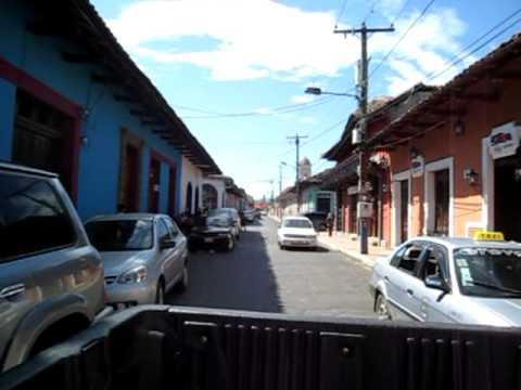 Driving in Granada, Nicaragua