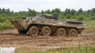 БТР-80. Боевая техника (съемка внутри)