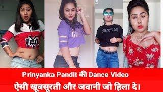 Priyanka Pandit TikTok (Musical.ly)||Bhojpuri Dance Song||by Sweta StraitMind