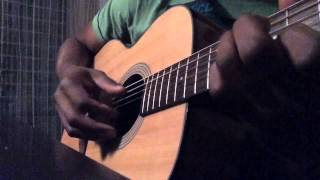 Salif Keita - Abede (intro guitar cover)