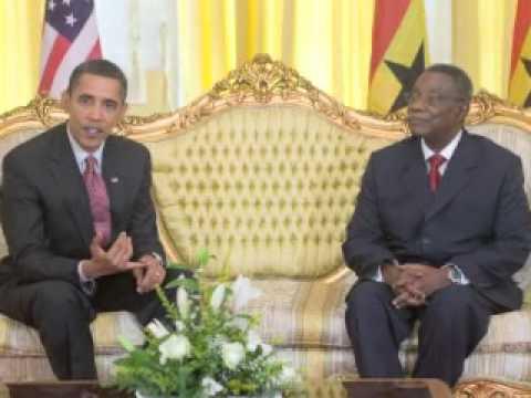 Première grande tournée africaine de Barack Obama
