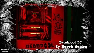 Deadpool Themed Custom AIO Cooled Gaming PC Build - Modified Computer mod by Havok Nation