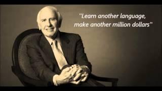 Jim Rohn on learning multiple languages